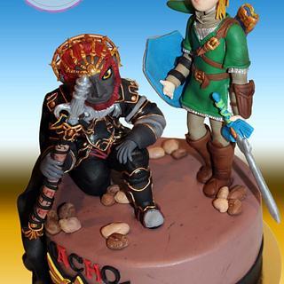 Cake fondant from The Legend of Zelda -Tarta fondant de The Legend of Zelda - Cake by Machus sweetmeats