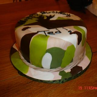 Camo Cake - Cake by Dana