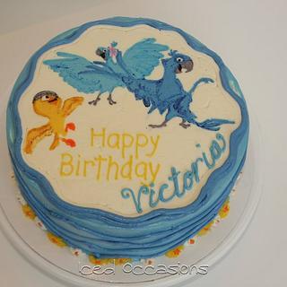 Rio Birthday Cake - Cake by Morgan
