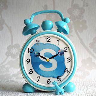 Skype clock SSS Collaboration