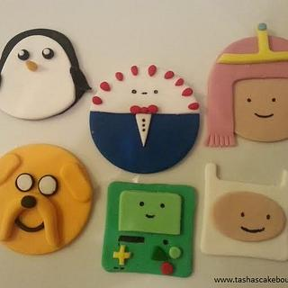 Adventure Time Cupcake Toppers