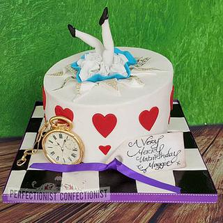 Maggie - Alice in Wonderland Birthday Cake