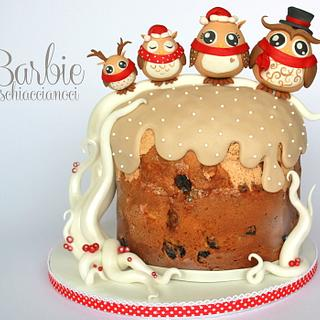 Owls family (Panettone)