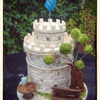 White tower - Cake by Aspasia Stamou