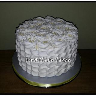 Anniversary petals cake - Cake by First Class Cakes