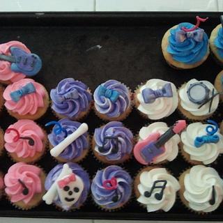 Hard Rock Cupcakes