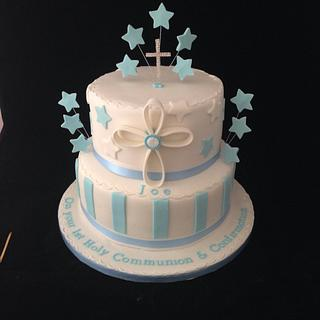 Communion cake - Cake by Debi at Daisy's Delights