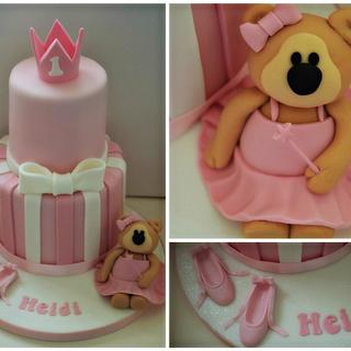 Baby Ballet Twinkle Cake