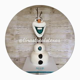 Life size Olaf!