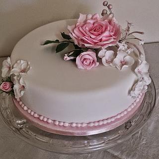 Annette saving cake - Cake by Maggie Visser