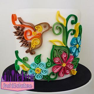 Quilling Cake - Cake by Archicaketure_Italia