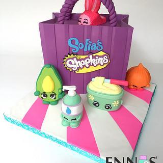 Shopkins Cake - Cake by Irina - Ennas' Cake Design