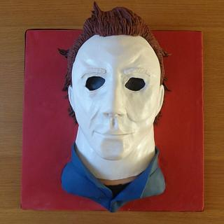🎃🔪 Michael Myers Cake, Happy Halloween! 🔪🎃