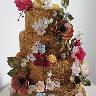 Vintage Bling Fairytale Cake