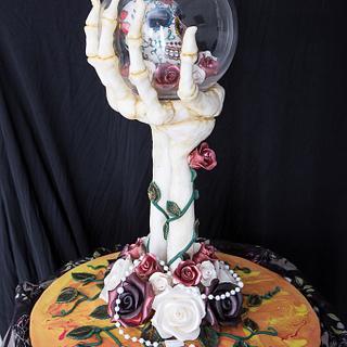 Head in hand...Dia del Muerta