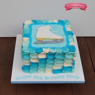 My first buttercream cake