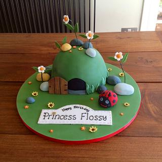 Ben and Holly's Little Kingdom: Gaston's Cave cake