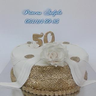 50th anniversary cake - Cake by Princess Andjela