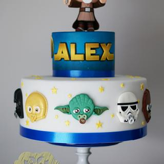 STAR WARS CAKE FOR ALEX