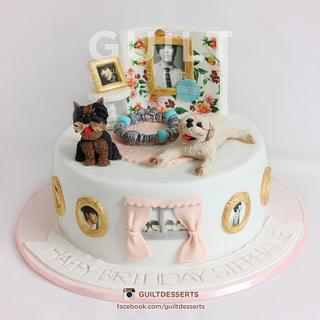 Idol & Puppy cake