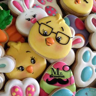 Easter Mini Cookies