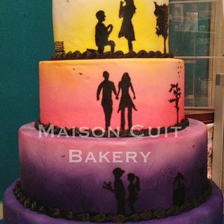 Color Show Cake
