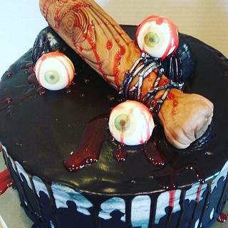 The Walking Dead Lucille Cake