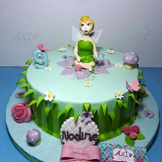 Fairy tale cake - Cake by Arty cakes