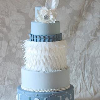 Charleston theme cake