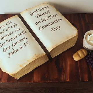 Red Velvet Bible Cake
