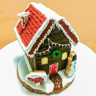 3D Christmas Cookie House