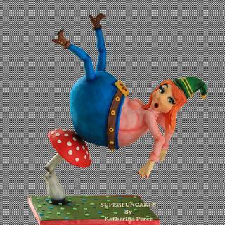 The Wobbly Dwarf  - girl version - Cake by Super Fun Cakes & More (Katherina Perez)