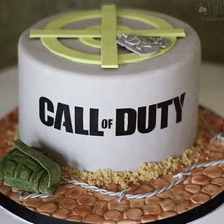 Call of Duty - Cake by Sweet Pea Tailored Confections