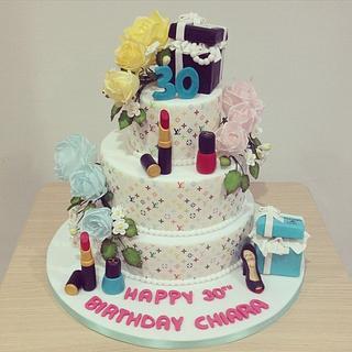 Louis Vuitton Cake - Cake by Valeria Antipatico