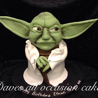 Yoda cake - Cake by David Mason
