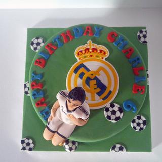 Real Madrid Ronaldo Cake