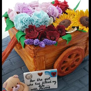 A wagon full of Love 🌻🌸🌺🌼🌹