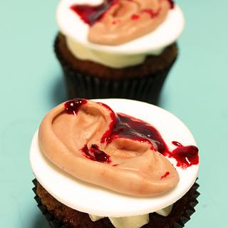 Body piece cupcakes ;)