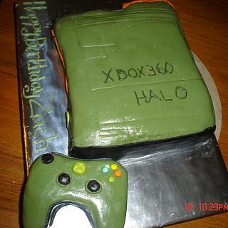 Xbox Halo cake - Cake by Dana