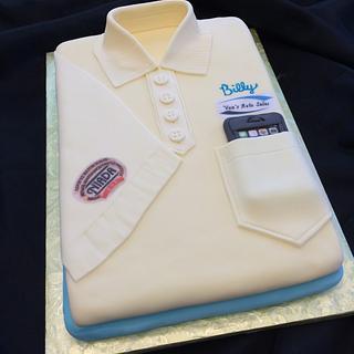 Man's Shirt - Cake by Theresa