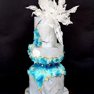 Blue rock - Cake by Delice