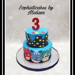 PJ Masks themed Birthday