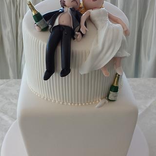 drunken couple