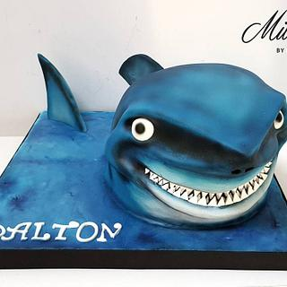 Shark Cake (with pictorial!)