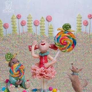 WHAT ARE LITTLE BOYS MADE OF? - Sweet Fairy Tales Sugar Collaboration