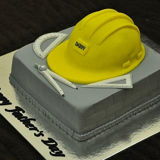 Father's day cake for a Civil Engr Dad - Cake by Rovi