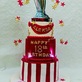 Happy 18th birthday - Cake by Princess Andjela