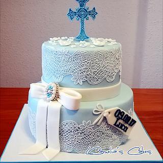 CHRISTENING CAKE for LUCA