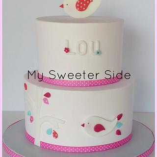 Lou - Cake by Pam from My Sweeter Side