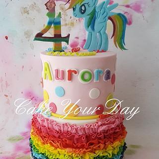 Rainbow cake - Cake by Cake Your Day (Susana van Welbergen)